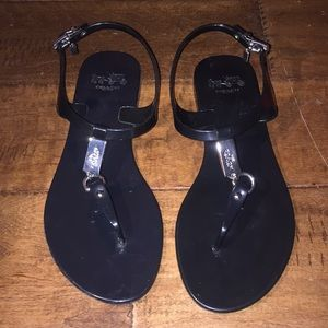 Coach Plato Jelly sandals